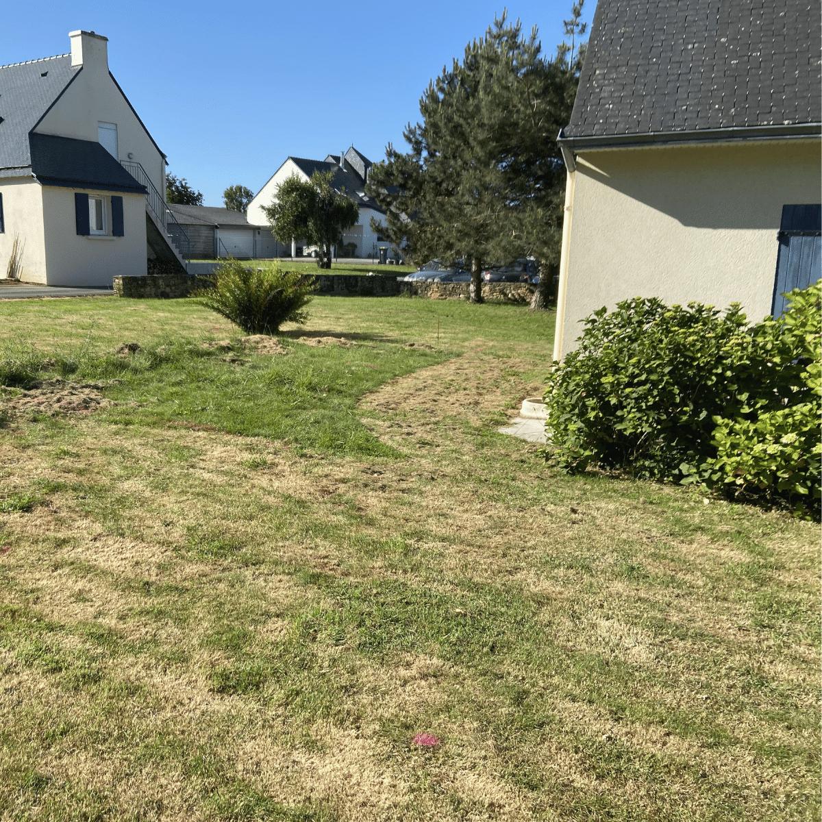 Cas pratique - jardin avant