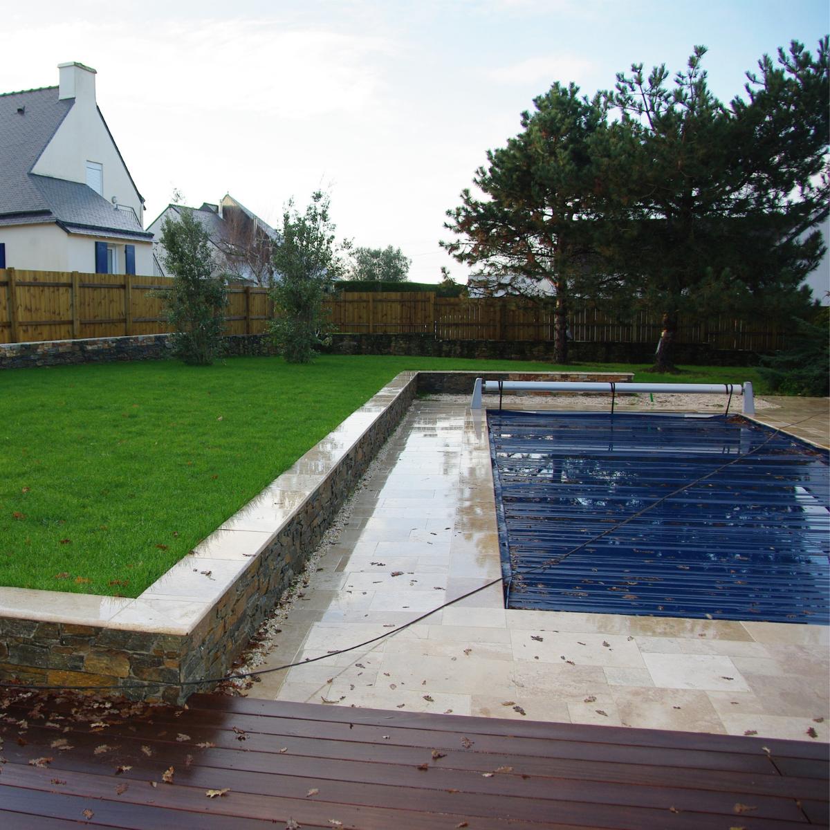Cas pratique - Terrasse et piscine